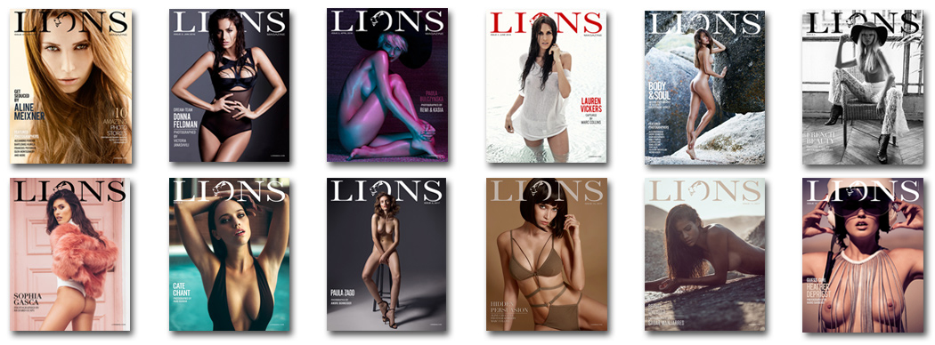 All Lions magazine issues