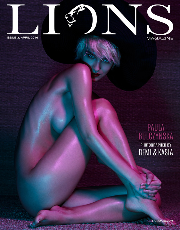 LIONS ISSUE 3    // lionsmag.com - premium nude photography magazine