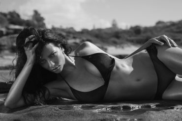Black & White Rocks! Women  swimwear photographer lionsmag fashion editorial blackandwhite bikini beachwear   // lionsmag.com - premium nude photography magazine