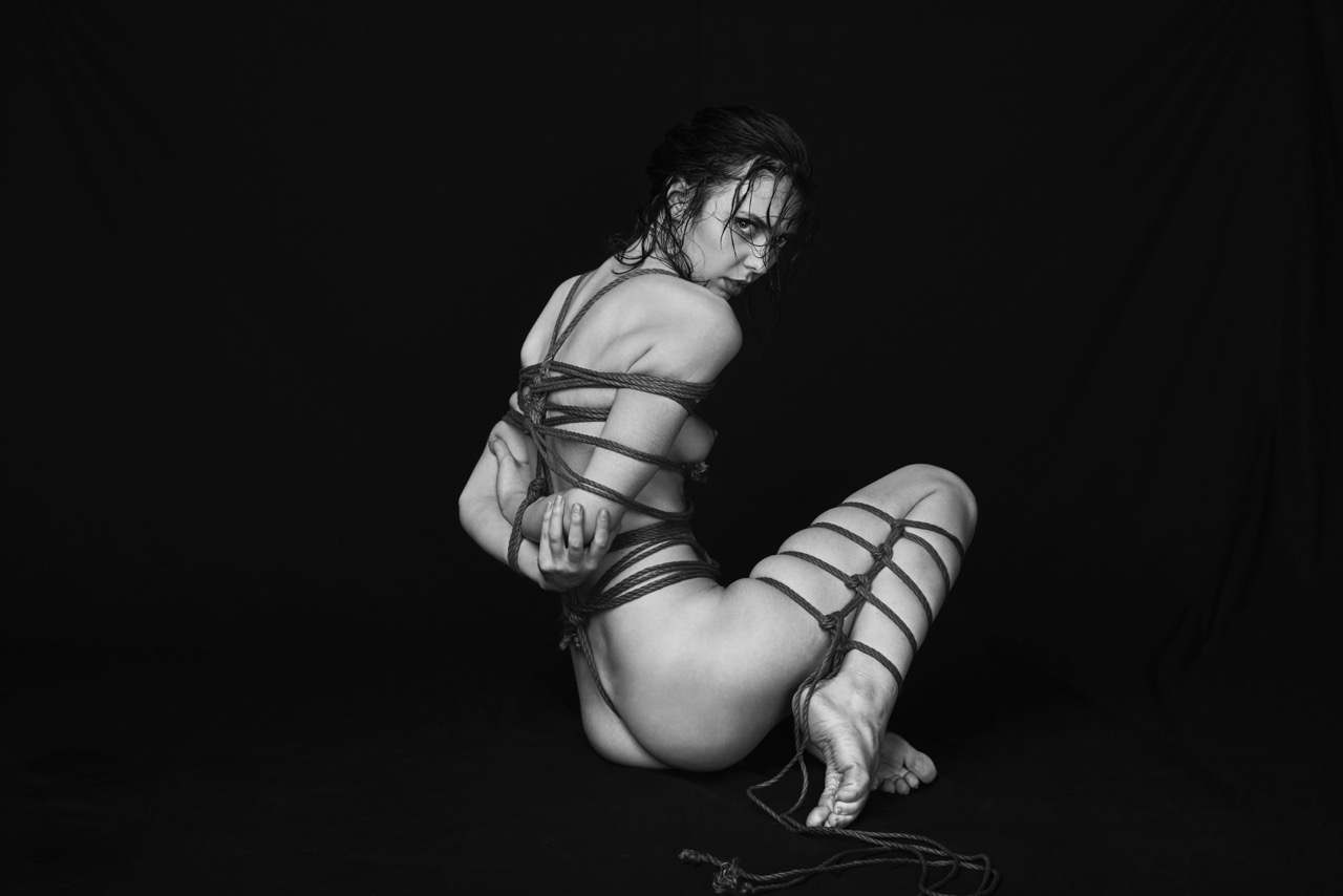 Share artistic bondage photography