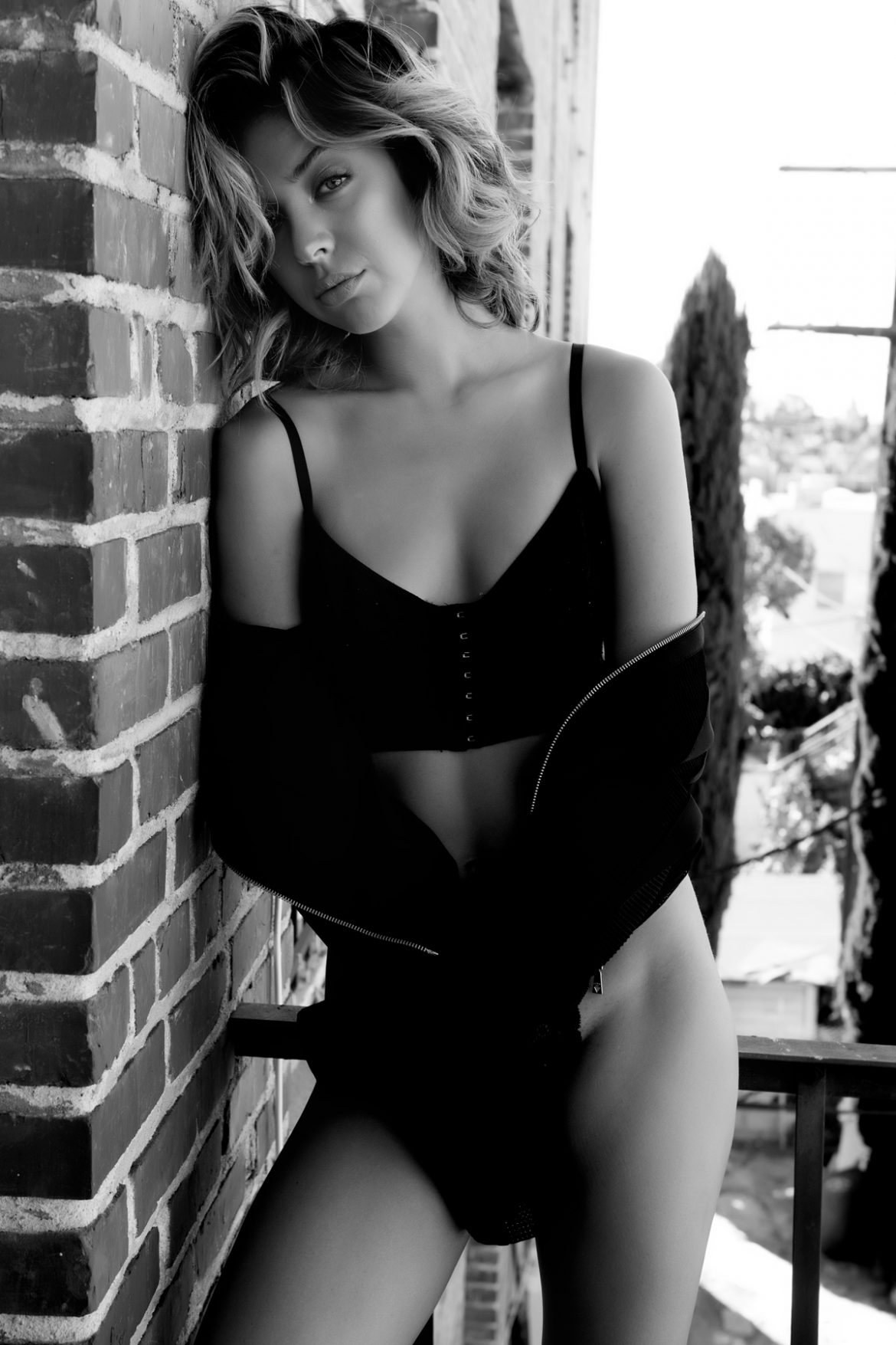 Ms. California Women  Nadia Mejia lionsmag lingerie fashion model editorial Chris Cruz body blackandwhite bikini beachwear   // lionsmag.com - premium nude photography magazine