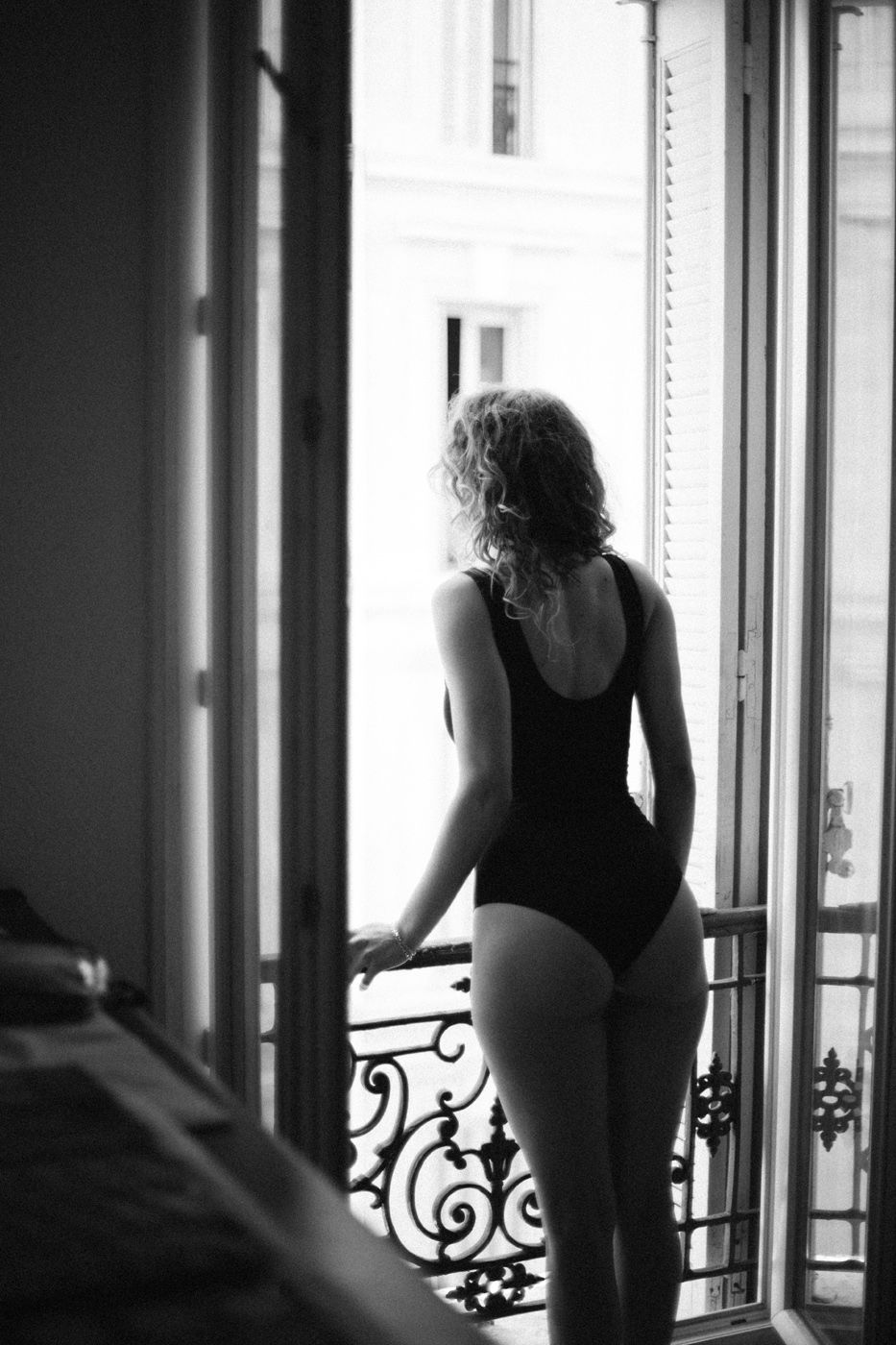 Stop wishing. Start living .. Women  Sébastien Pastor photography photographer models model lionsmag lions magazine lingerie fashion editorial Delphine Donnadieu body blackandwhite   // lionsmag.com - premium nude photography magazine