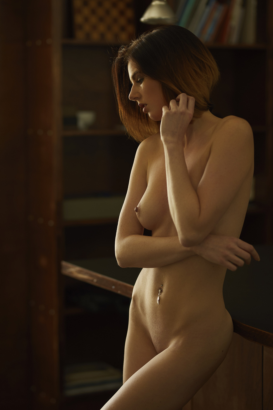 Nude Model Ivonne Photographed By Benedikt Schmucker-7894