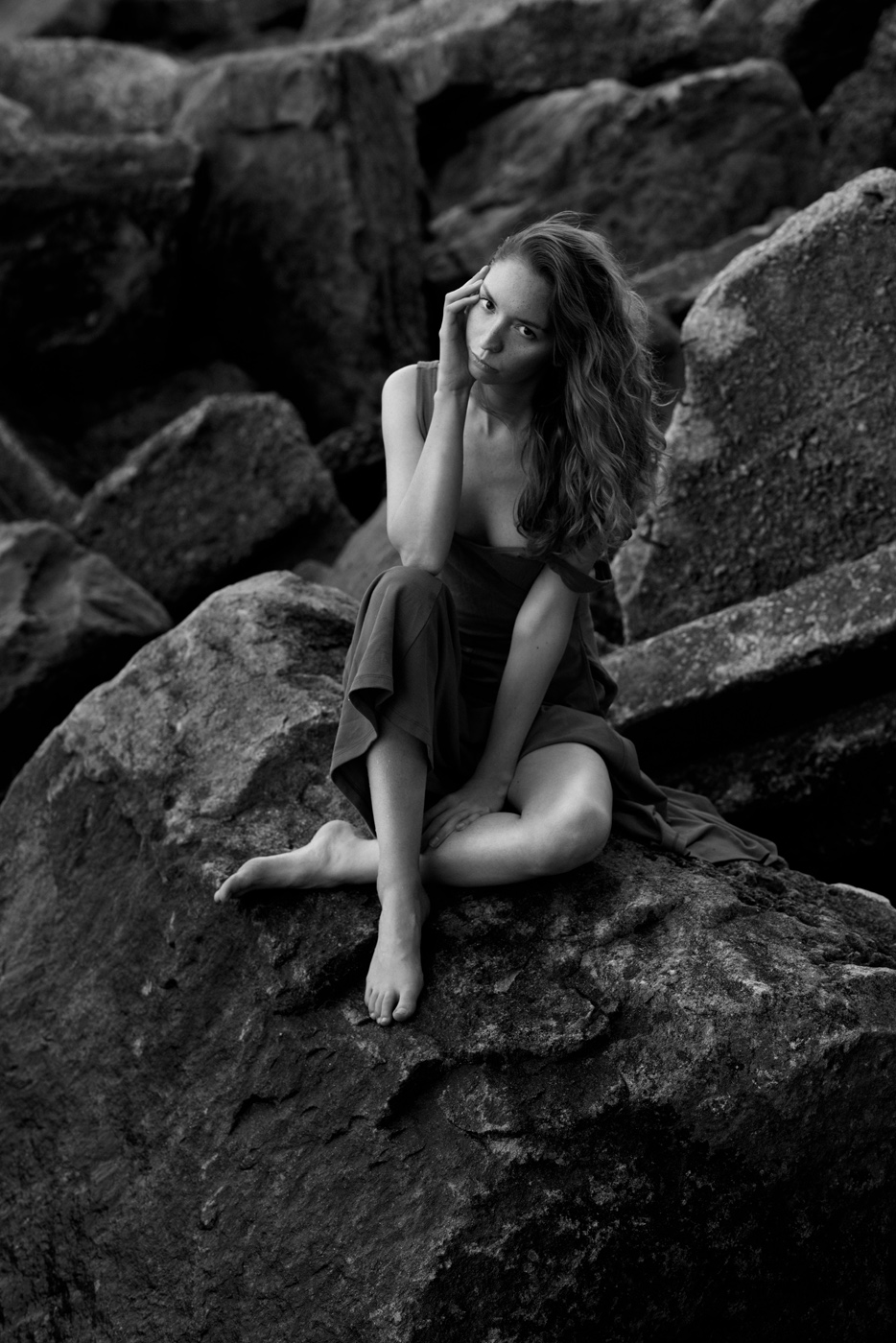 Her Secret Place Women  Lauren Rebecca Roth Anna Komarov   // lionsmag.com - premium nude photography magazine