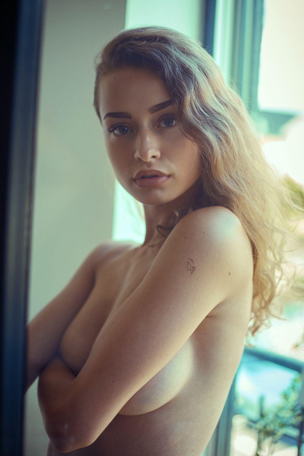 Lionsmag nude model magazine lingerie editorials Luisa Leipold
