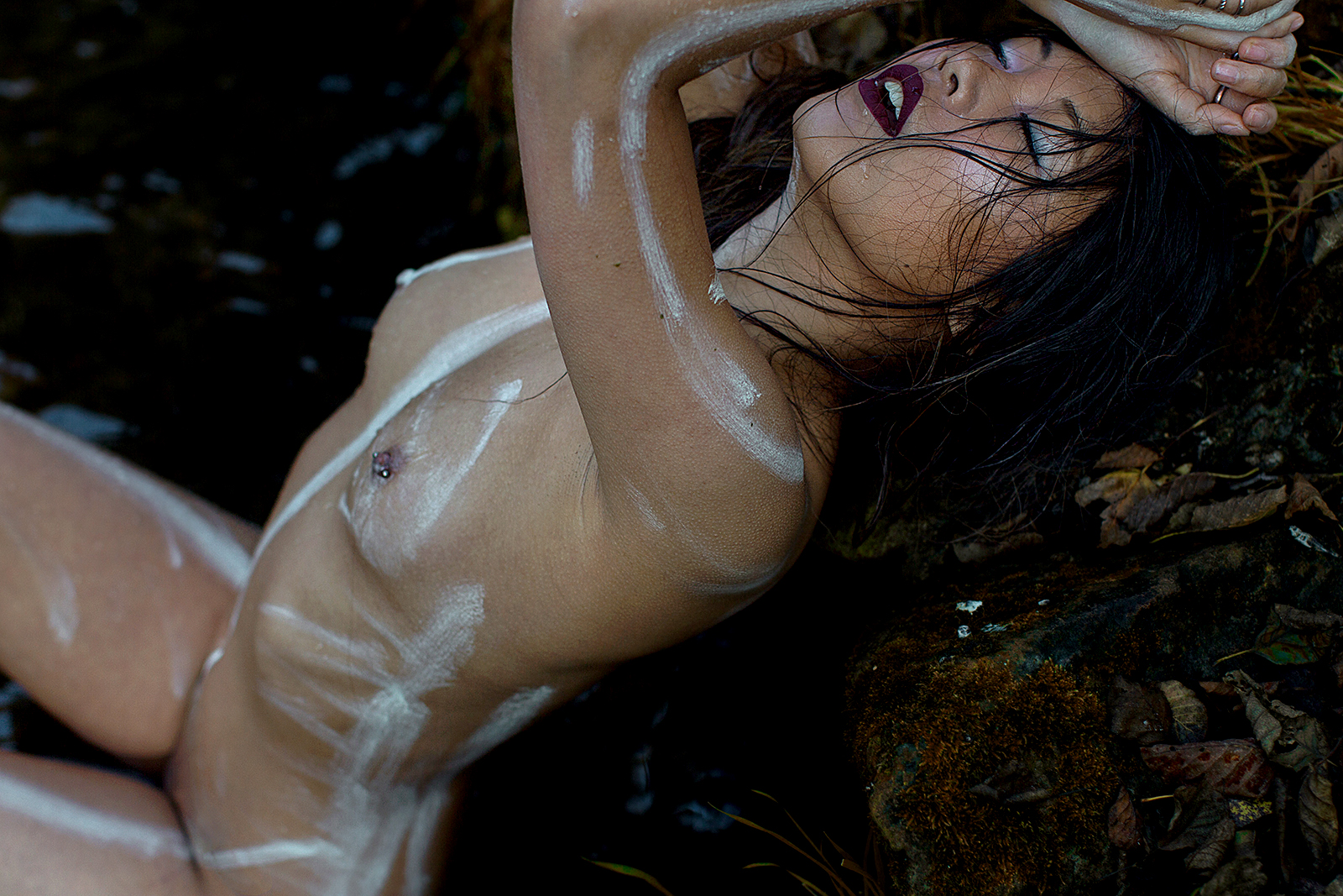 Waterfall Stories Women  photography nudes nude art nude lionsmag lions magazine Diana Neege   // lionsmag.com - premium nude photography magazine