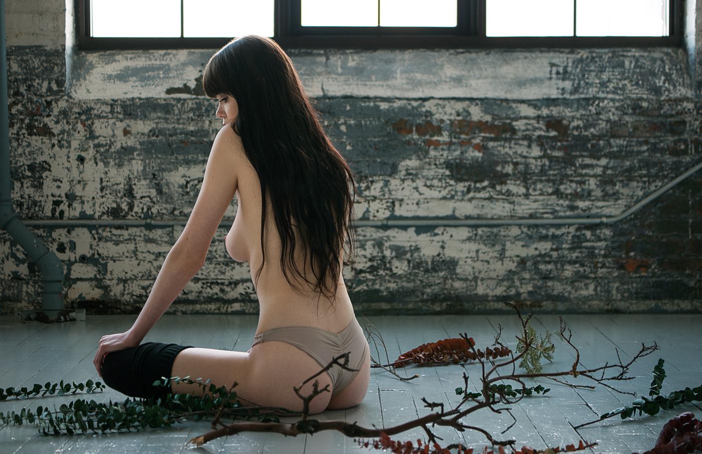 Ireland Rose Nude Art Model Photographed By Mark C Hanson-5366