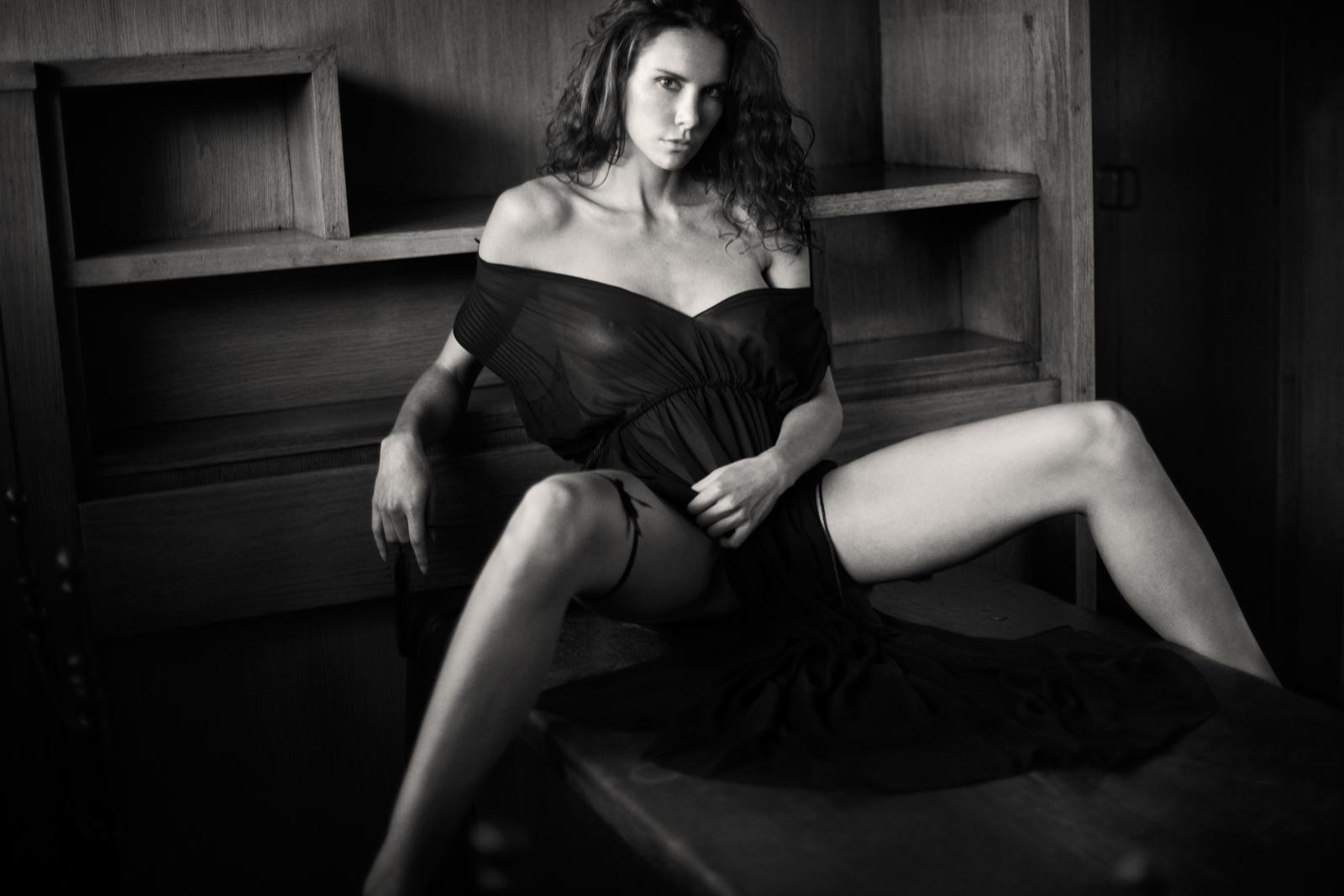 Andja Lorein Nude Art model