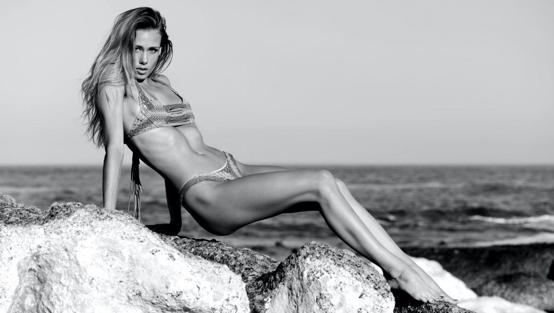ROUGH Women  Tayla Davis models model lionsmag lions magazine editorial body art blackandwhite bikini beachwear beach babes   // lionsmag.com - premium nude photography magazine