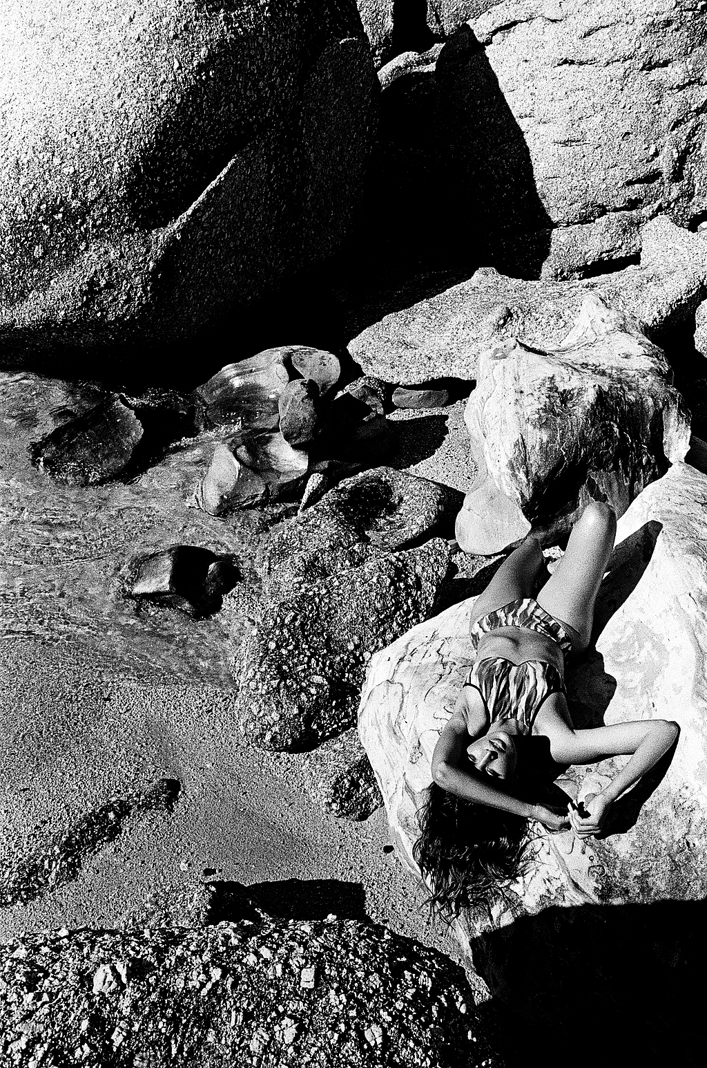 Secret Places Women  photoshoot models model lionsmag lions magazine fashion model fashion editorial cape town body art body blackandwhite bikini beachwear   // lionsmag.com - premium nude photography magazine
