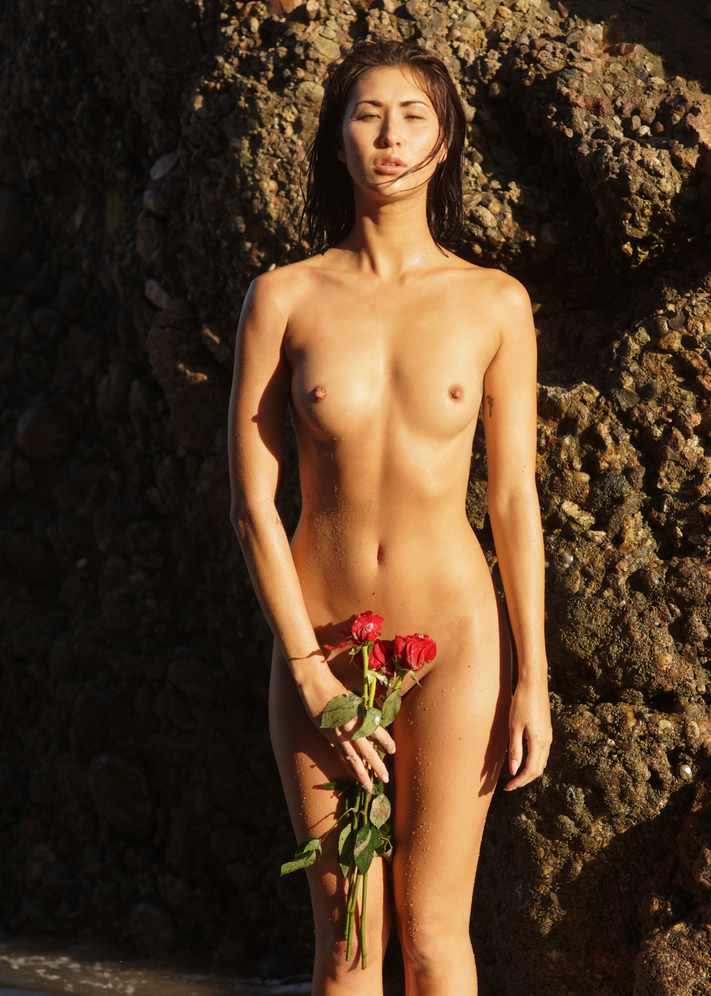 Kiss For a Rose Women  nudes nude art nude models lionsmag lions magazine lingerie body art body bikini beachwear beach babes artwork art   // lionsmag.com - premium nude photography magazine