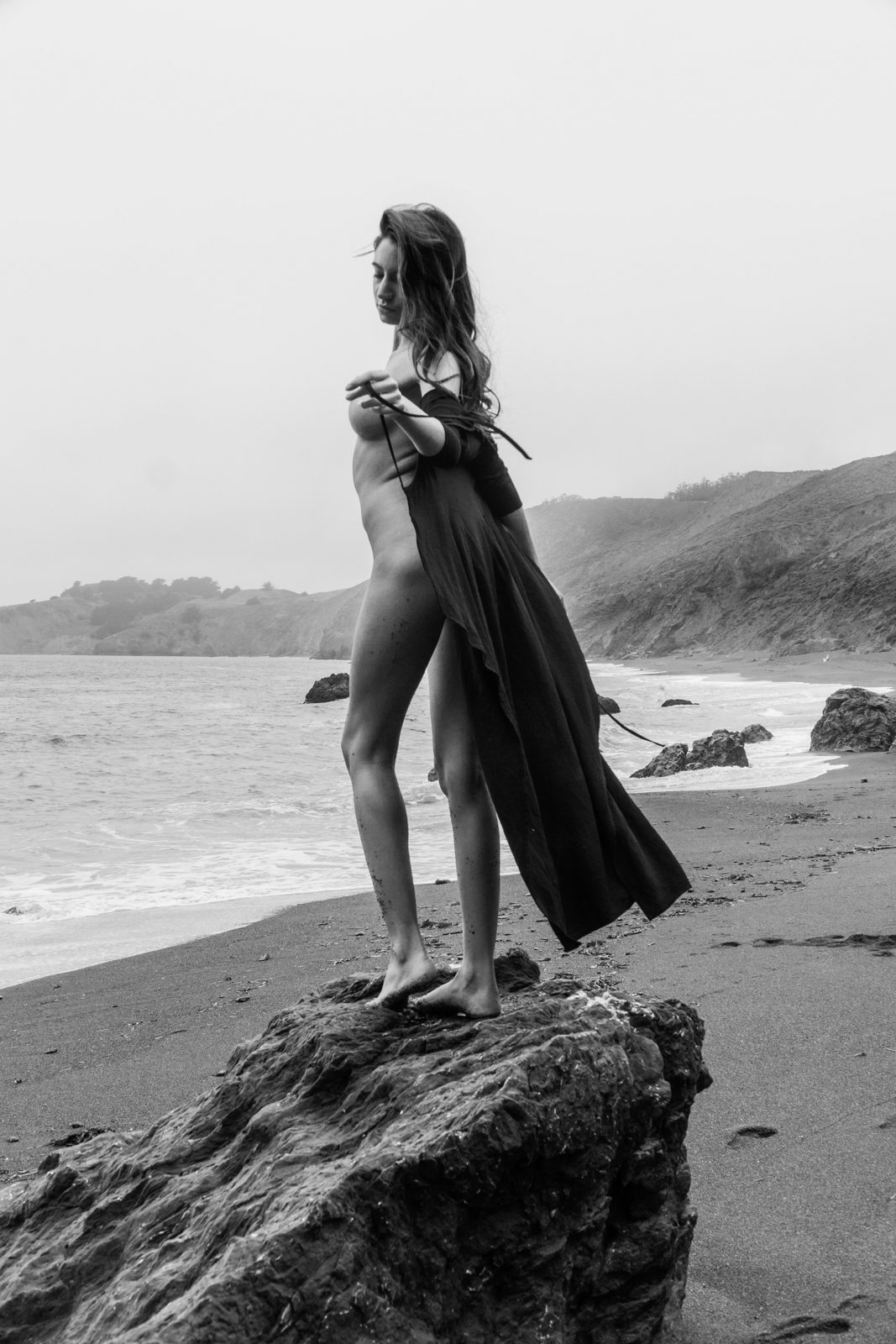 Celeste - Black Beach Women    // lionsmag.com - premium nude photography magazine