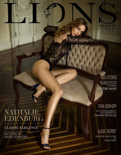 Lions art magazine no 21 Nathalie Edenburg by Andre Schneider