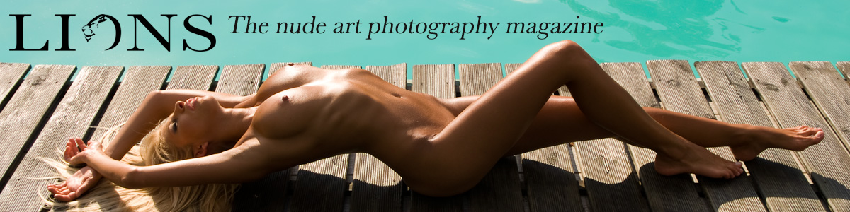 nude art editorial by photographer Marc Collins
