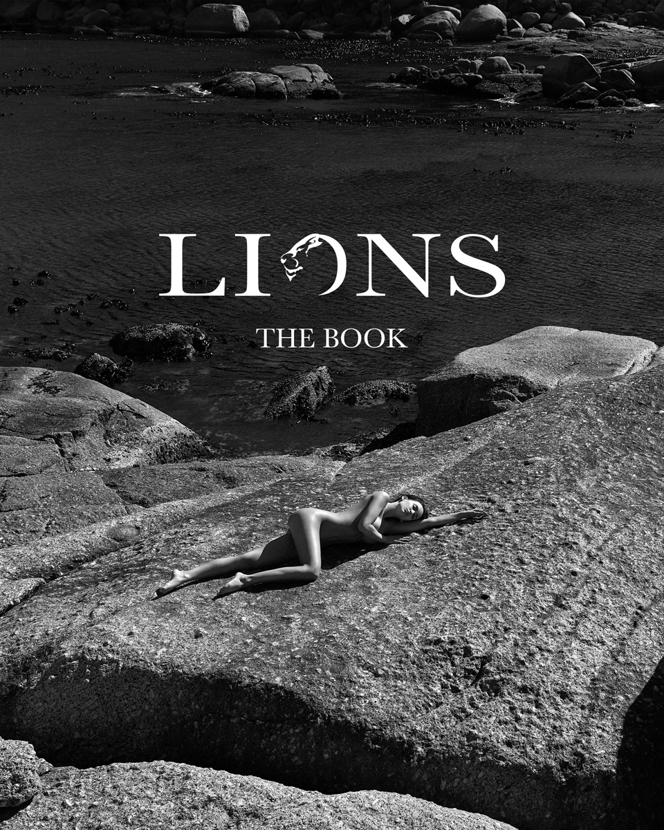 LIONS - THE BOOK    // lionsmag.com - premium nude photography magazine