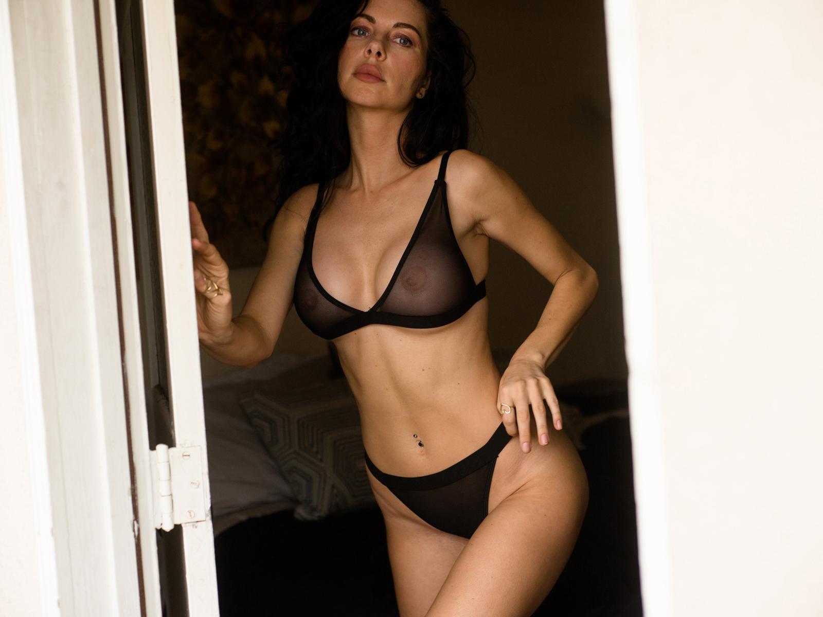 Meg Felix photographed by Mortonovich for Lions magazine